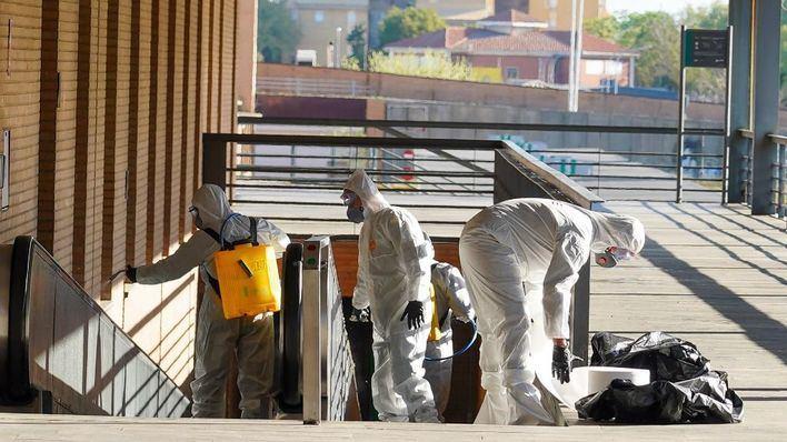 España registra 838 muertos por coronavirus en un día, cifra máxima hasta el momento