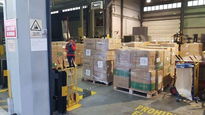 El Govern anuncia la llegada de 7 toneladas de material sanitario a las Islas