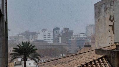 Lluvias, chubascos y tormentas despiden marzo en Baleares
