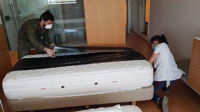 Llegan los primeros pacientes de coronavirus al Meliá Palma Bay medicalizado