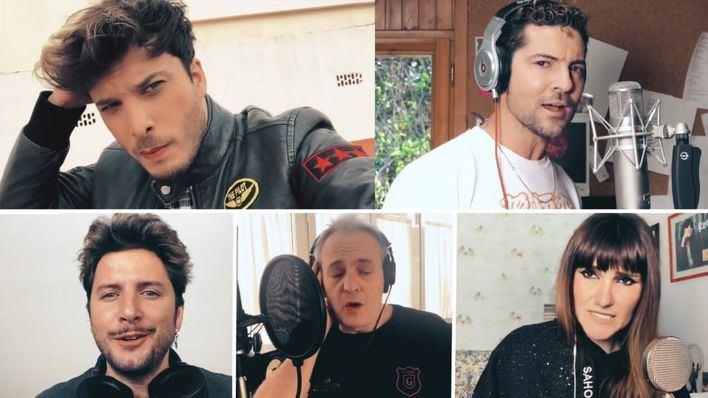 El emotivo 'Resistiré' frente al coronavirus de los artistas españoles desde sus casas