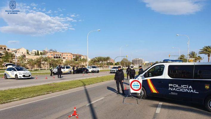 Nueve detenidos más en Palma e Ibiza por saltarse el confinamiento reiteradamente
