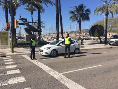 Detenido en Palma tras saltarse la orden de confinamiento nueve veces