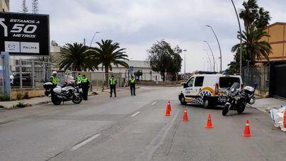 La Policía Local de Palma realiza más de 5.000 controles a vehículos en una semana