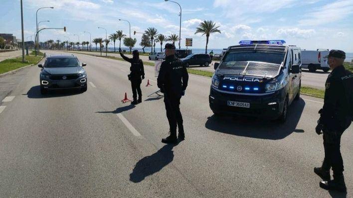 Levantadas casi 1.400 actas por desobediencia en dos días en Baleares
