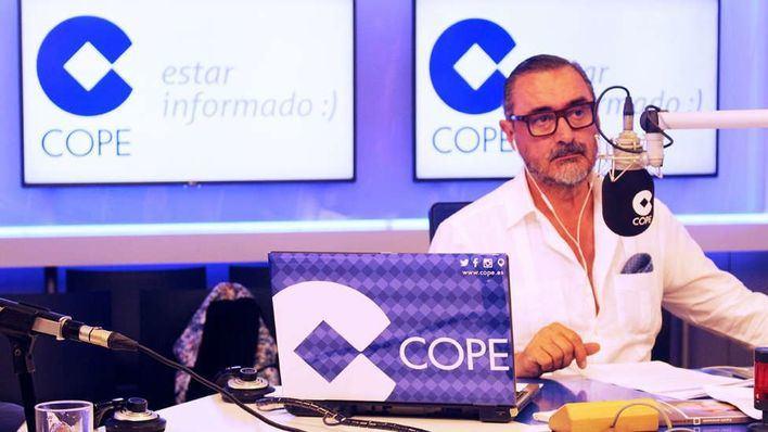 'Herrera en COPE' consigue 2.433.000 oyentes tras aumentar su audiencia un 10 por ciento en cuatro meses