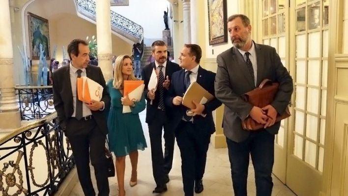 Ciudadanos pide plenos del Parlament y comisiones por vía telemática