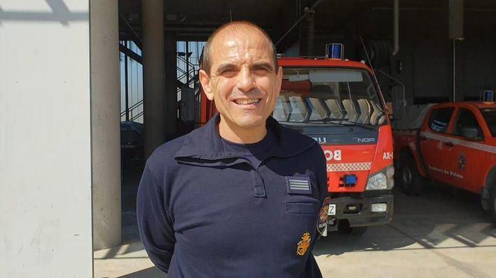 Rafel Ferrer comienza su andadura como jefe de los Bombers de Palma