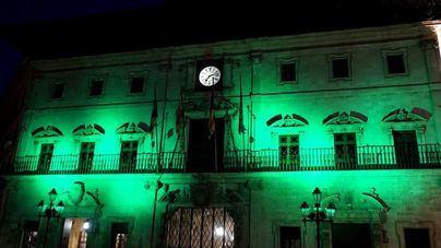 Cort se ilumina de verde por el Día Mundial de la Salud