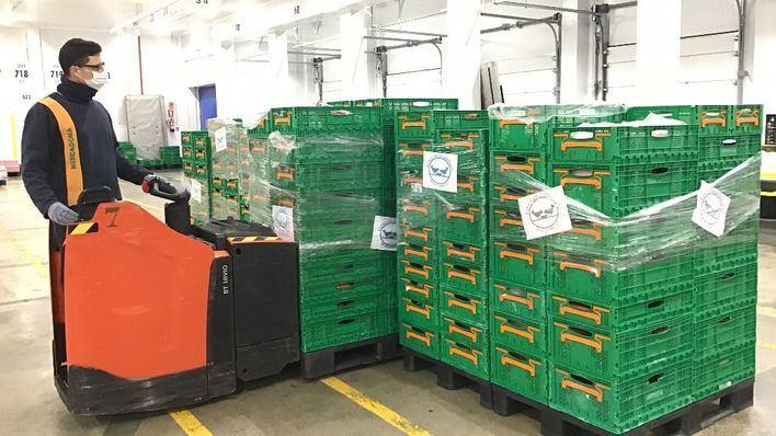 Mercadona dona tres toneladas de productos al Banco de Alimentos de Mallorca