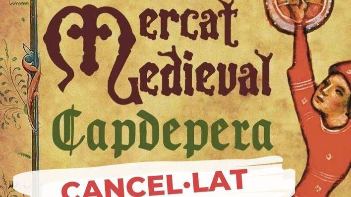 Capdepera suspende la Feria Medieval por la pandemia del coronavirus
