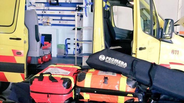 Baleares refuerza la desinfección de ambulancias para pacientes de coronavirus con 60.500 euros