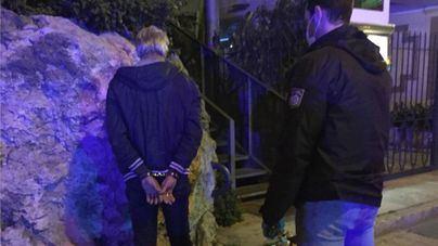 Detenido por el robo violento en un coche en Palma