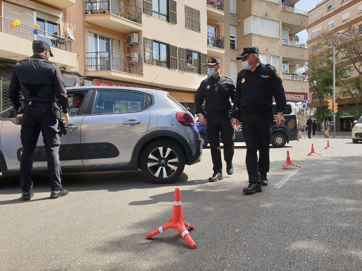 18 detenidos y 1.883 actas levantadas por la Policía Local de Palma desde el confinamiento
