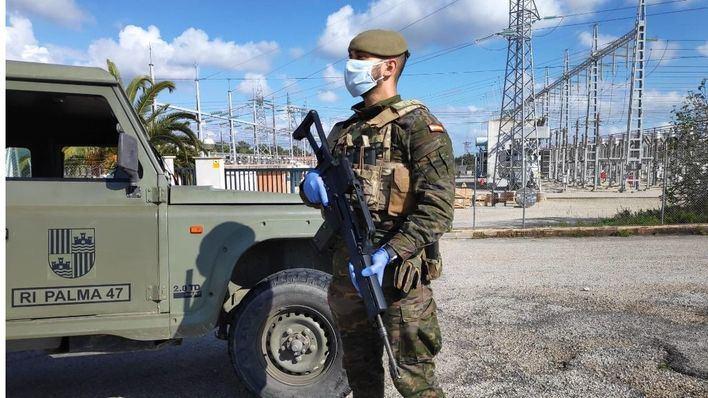 Una patrulla militar encuentra en Llubí a una persona de avanzada edad desaparecida en Muro