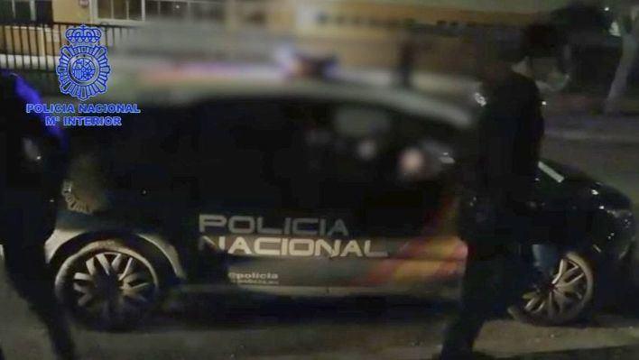 Foto y vídeo: Detención motorista Son Banya