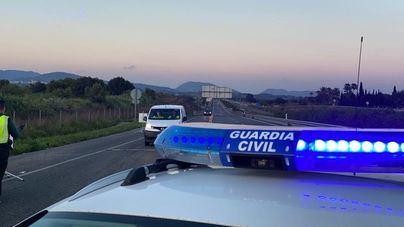 Atascos en el acceso a Palma desde Inca por los controles policiales en la hora punta