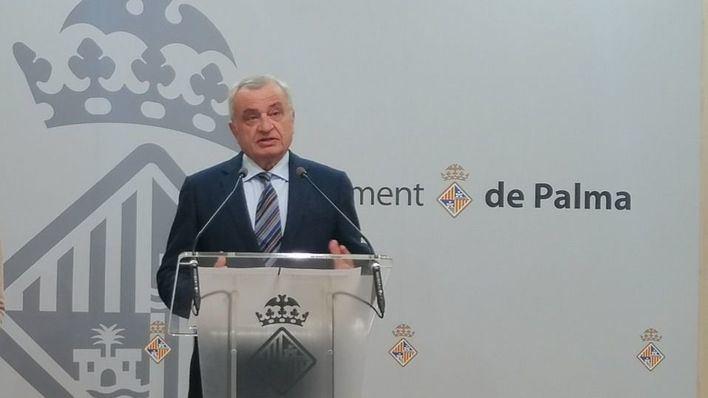 Vox pide que la Policía Local de Palma lleve mascarillas de máxima protección