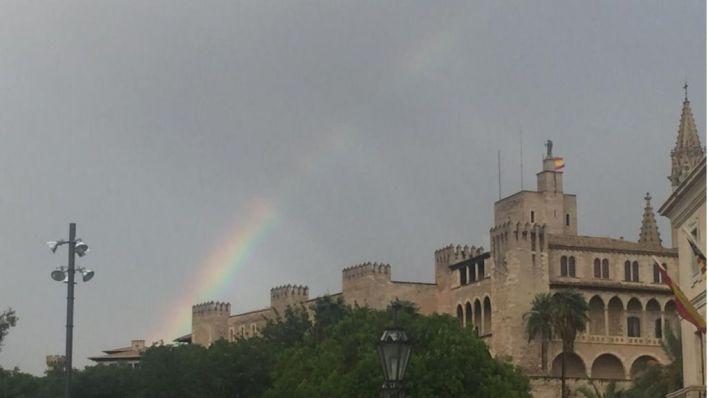 Lluvias y tormentas este fin de semana en Baleares