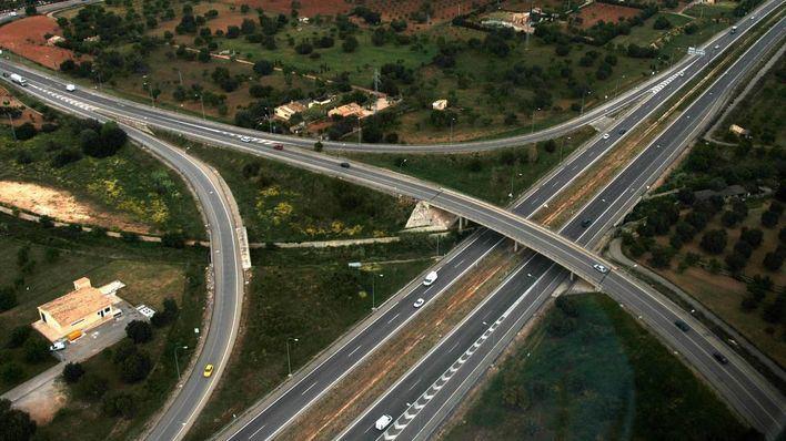 Se reduce más del 70 por ciento el tráfico en los accesos a los principales municipios de Baleares
