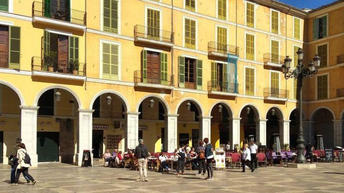 ARCA se muestra contraria a ampliar el espacio destinado a las terrazas en Palma