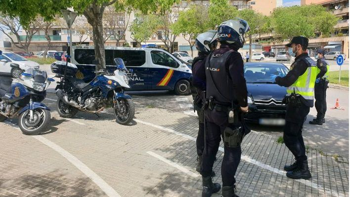 Detenido tras empujar a un policía y darse a la fuga en Son Gotleu