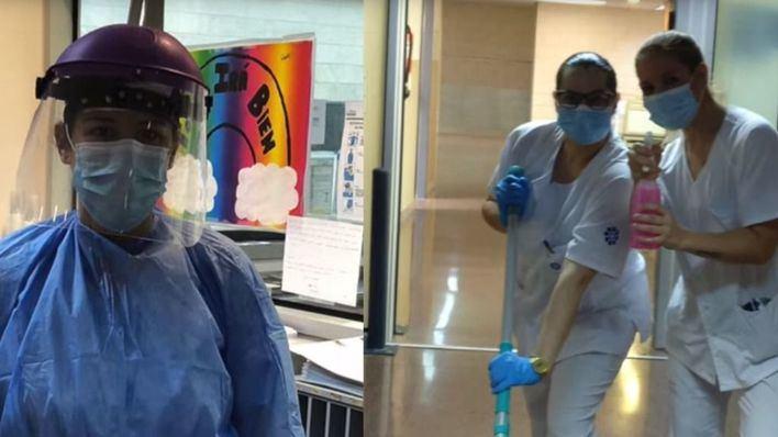 Emotivo vídeo de un equipo del Hospital de Son Llàtzer