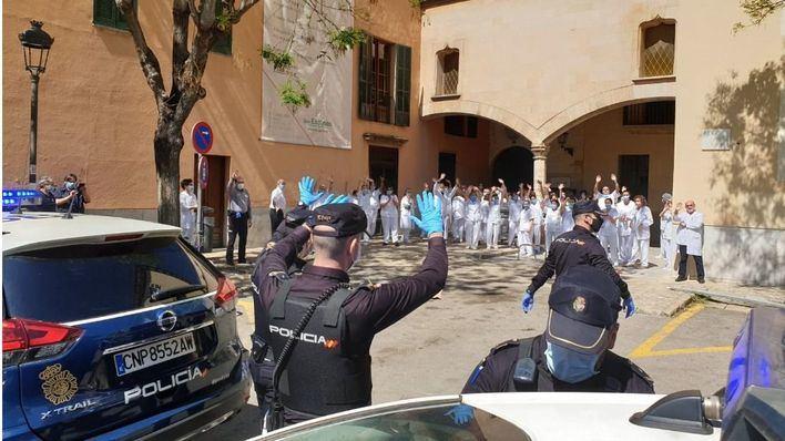 Policía Nacional y Guardia Civil han realizado más de 300 auxilios humanitarios en Baleares