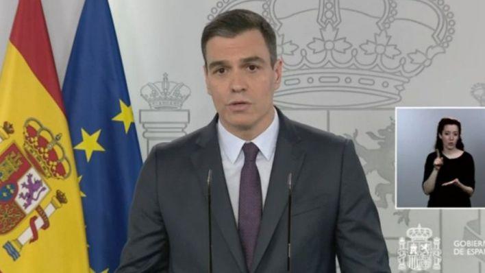Sánchez anuncia que permitirá salir a hacer deporte o pasear a partir del 2 de mayo