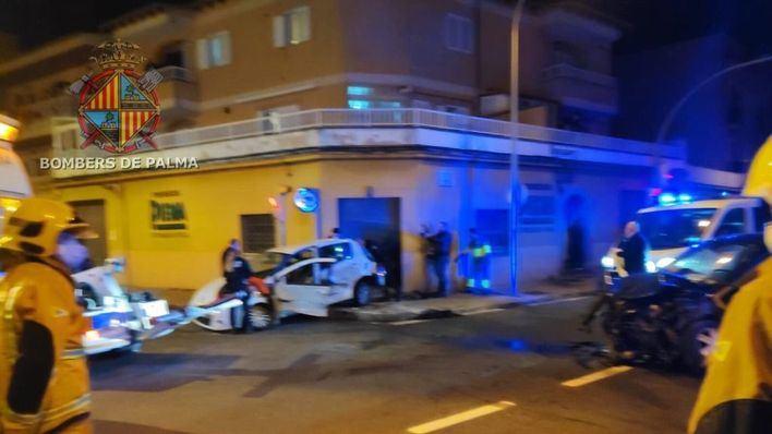 Un conductor, grave tras un accidente de tráfico en Son Ferriol