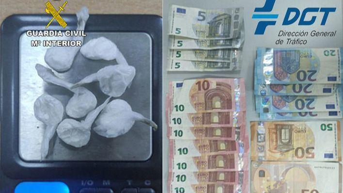 Cazado con siete papelinas de droga en un control de tráfico en Binissalem