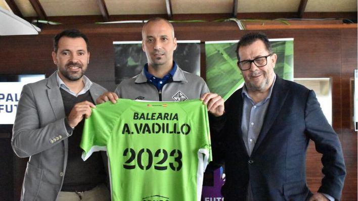 Vadillo, sobre el reinicio de la competición: