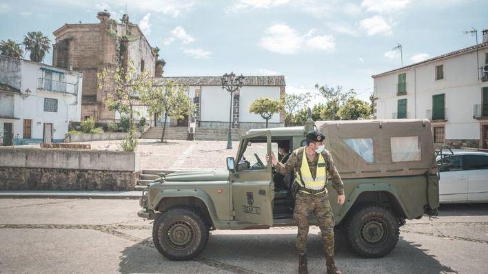 Casi 2.000 militares españoles se han visto afectados por la pandemia