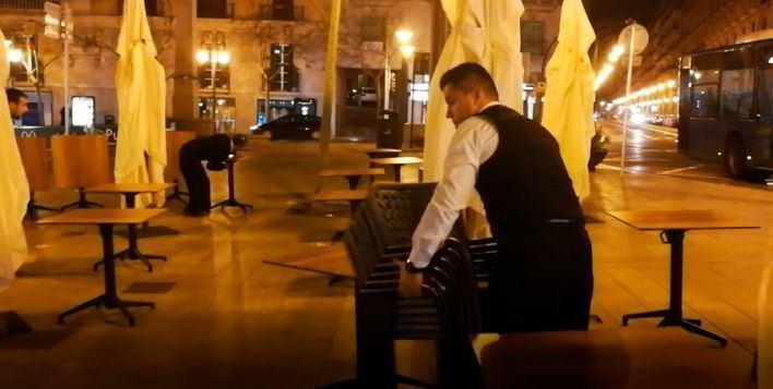 El PP pide a Cort que suspenda las limitaciones a las terrazas de bares y restaurantes
