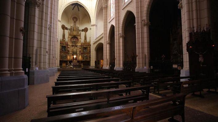 A misa a partir del 11 de mayo, pero ocupando solo un tercio de la iglesia