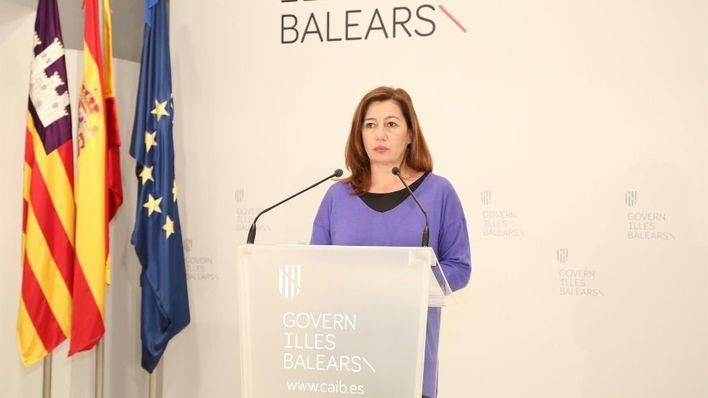 Armengol dará a conocer este miércoles el plan de desconfinamiento de Baleares