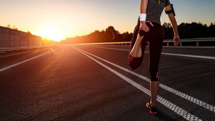Piden a los 'runners' 10 metros de distancia entre ellos y no correr en paralelo