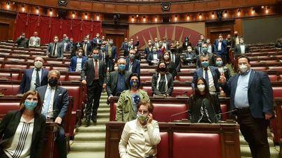 Salvini ocupa el Parlamento para exigir respuestas sobre la crisis económica y sanitaria