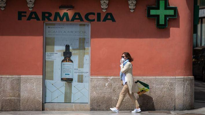Las farmacias aseguran el suministro de mascarillas