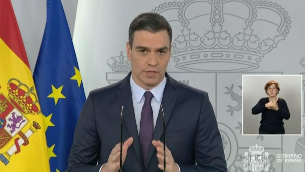 Sánchez pide otra prórroga y anuncia el uso obligatorio de mascarillas en el transporte público