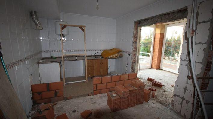 Se retoman las reformas de viviendas y locales bajo determinadas condiciones