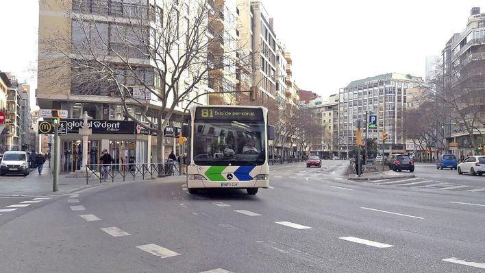 Acaba la excepción, la entrada a los buses de la EMT sólo se realizará por la puerta de delante
