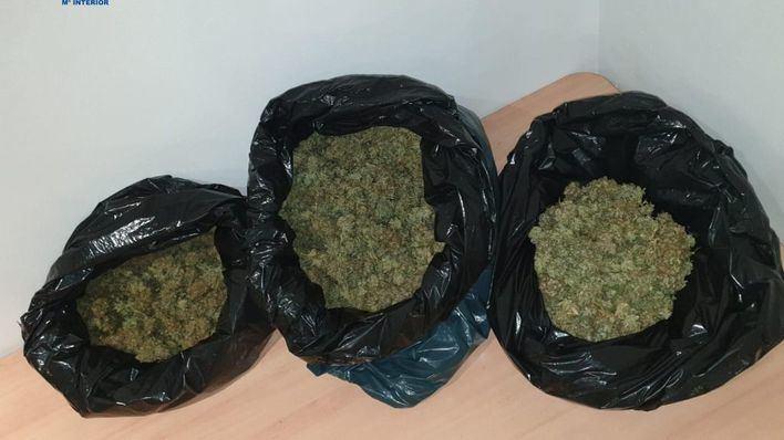 Tres detenidos en Son Gotleu y Rafal Nou por tráfico de drogas