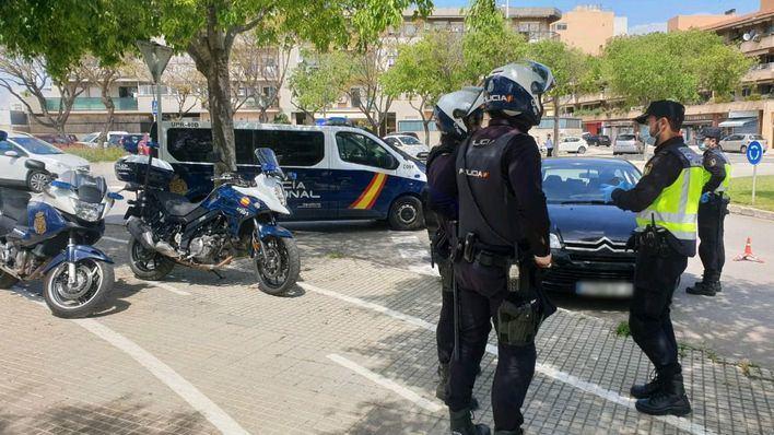 Quinto arresto por desobediencia de un anciano de 74 años en Palma