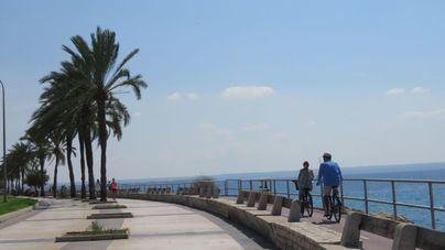 Máximas de 29 grados en Palma