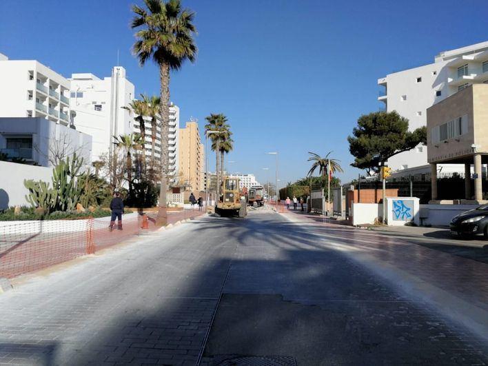 Ampliado el horario para realizar obras en zonas de afluencia turística de Palma