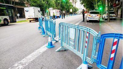 Palma cierra al tráfico 14 kilómetros de calles para facilitar los paseos