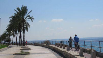 Lunes despejado y con aumento de temperaturas en Mallorca