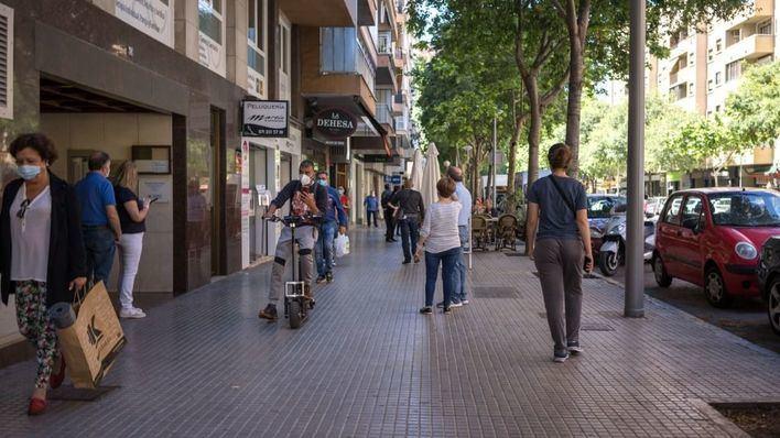 El pequeño comercio de Mallorca abre en un 80 por ciento