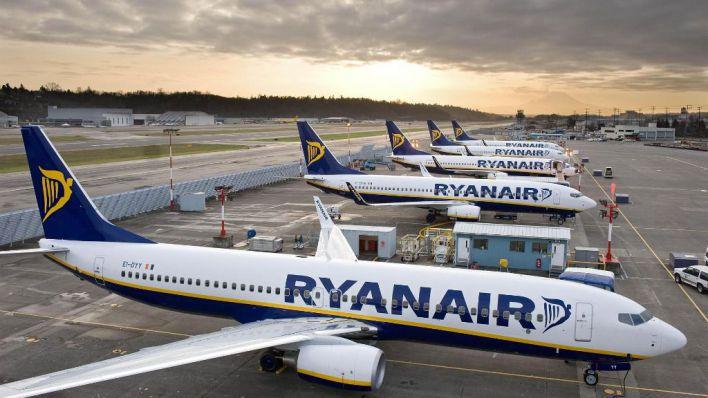 Ryanair operará a partir de julio el 40 por ciento de su programa de vuelos, entre otros a España